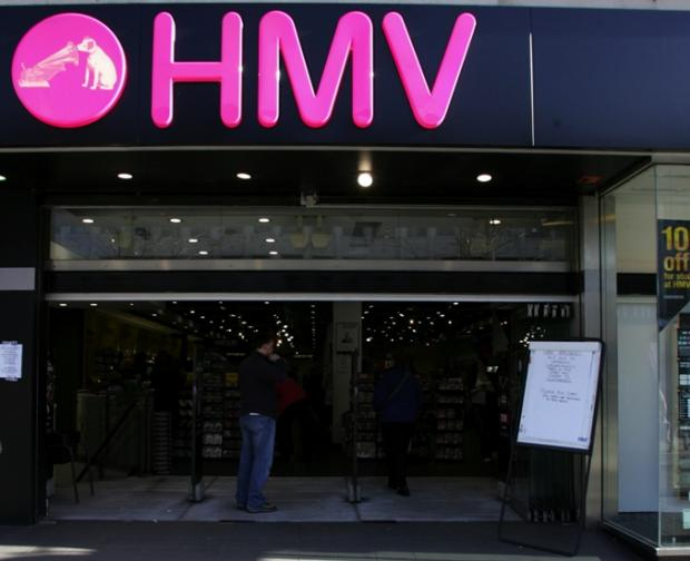4,000 jobs at risk as HMV calls in administators