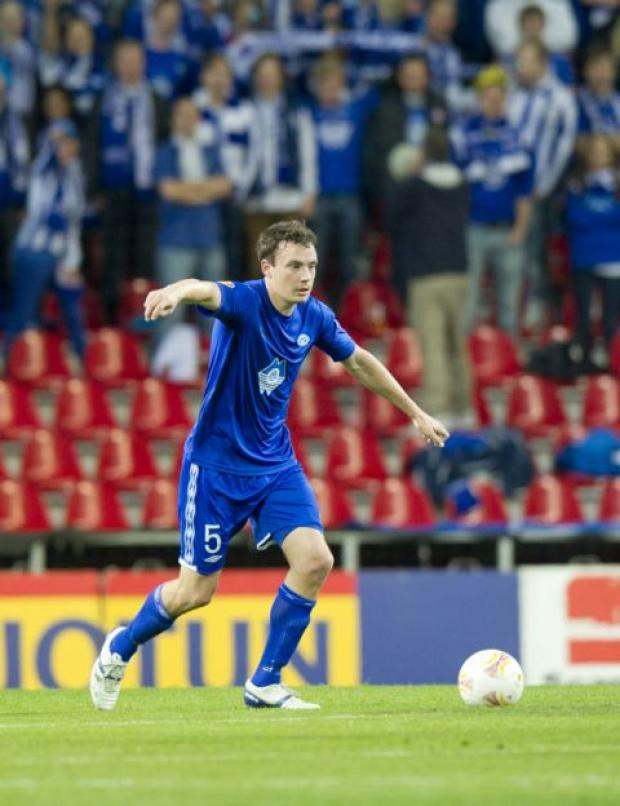 SAINTS MOVE: Vegard Forren