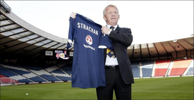 Gordon Strachan unveiled as Scotland manager today.
