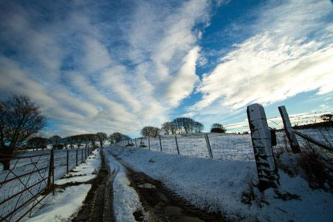 Army of Hampshire farmers on standby for blizzard