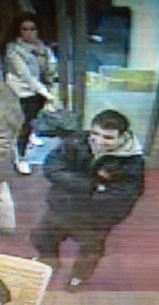 Police issue CCTV pictures in racist abuse hunt
