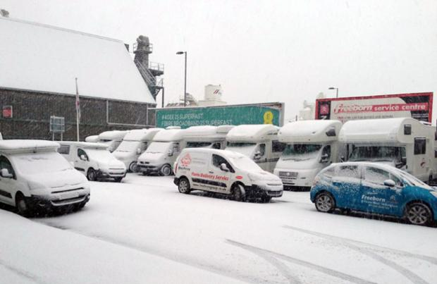 Daily Echo: Met Office warns of more bad weather - and maybe even snow
