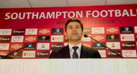 Mauricio Pochettino meets the press