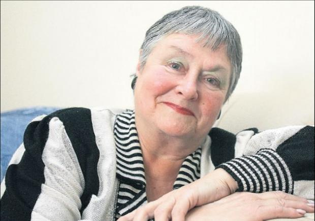 Daily Echo: CANCER DIAGNOSIS: Rita Jarvis.