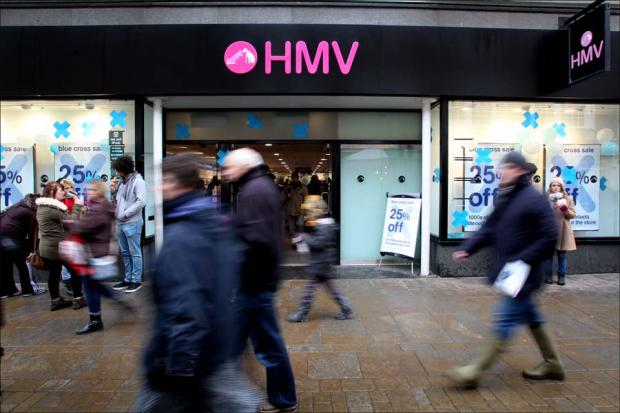 Daily Echo: Hampshire HMV staff hope for rescue deal