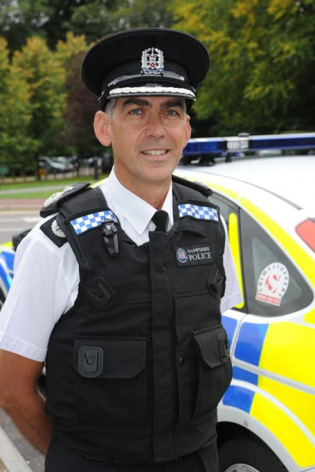 Daily Echo: Chief constable Andy Marsh
