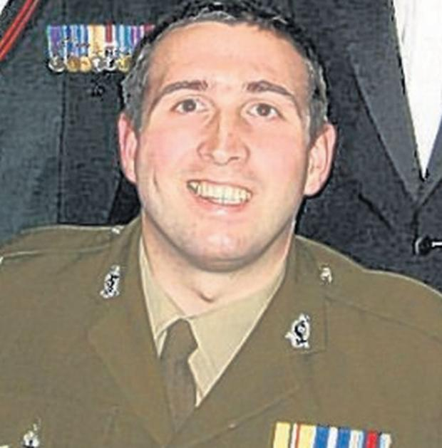 INJURED: Soldier Ben Parkinson