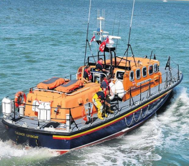 SAVING OTHERS: The dedicated crews of the RNLI