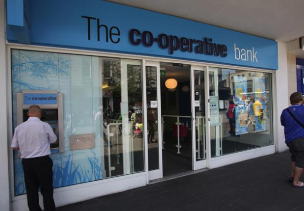 The Co-operative Bank in Above Bar, Southampton
