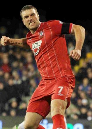Rickie Lambert will be up against Alan Pardew who signed him for Saints at Newcastle