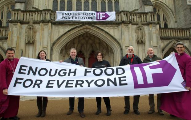 Church leaders back campaign to end hunger