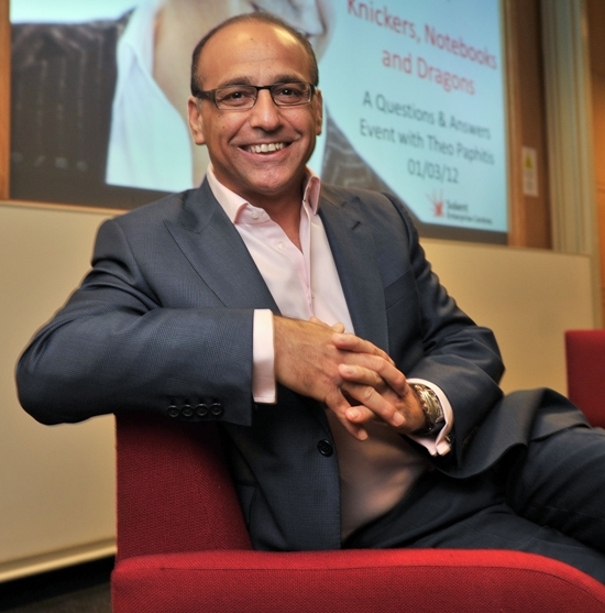 Dragon's Den star Theo Paphitis backs Southampton pet firm