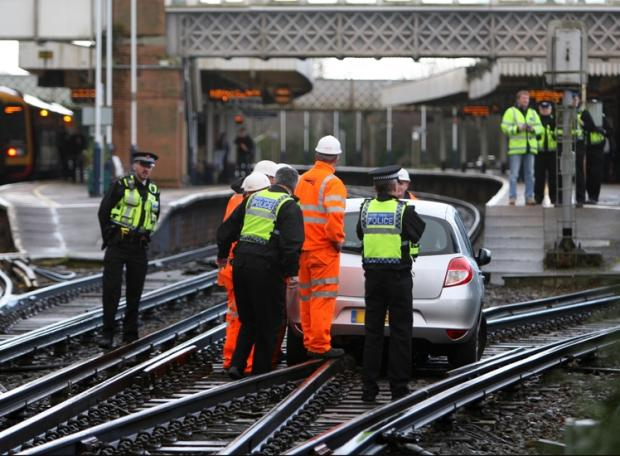 Anger at roads chiefs safety delay after OAP drives on to live rail
