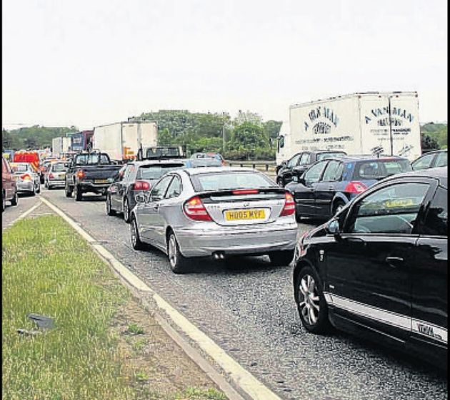 JAMS: The A31 at Ringwood.