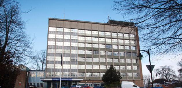 The current home of Hampshire Constabulary in Romsey Road, Winchester