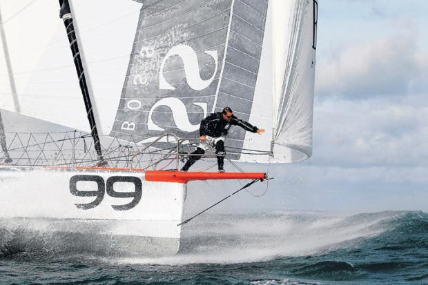 NEARLY THERE: Alex Thomson is closing in on the finish line in the Vendee Globe