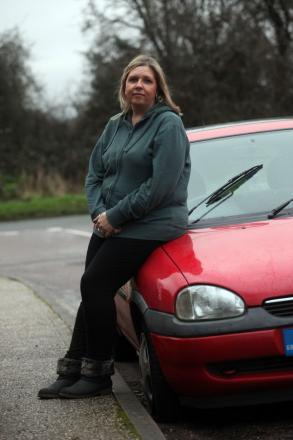 Cavendish Close resident Sharon Blackett had the tyres slashed on her car.
