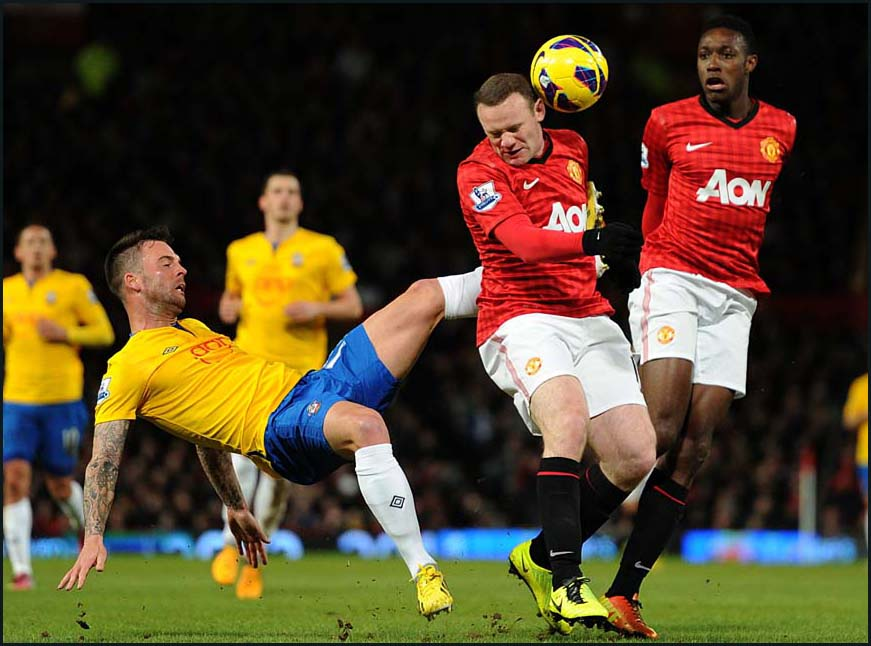Manchester United v Saints Picture Gallery