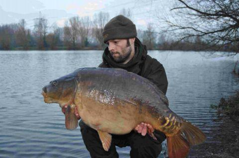 Neil Stansbridge took the best Broadlands fish of the week with a 25lb mirror.