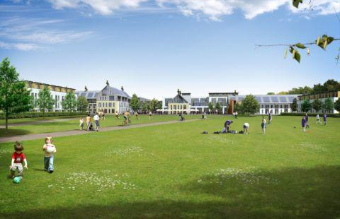 An artist's impression of the proposed Barton Farm development