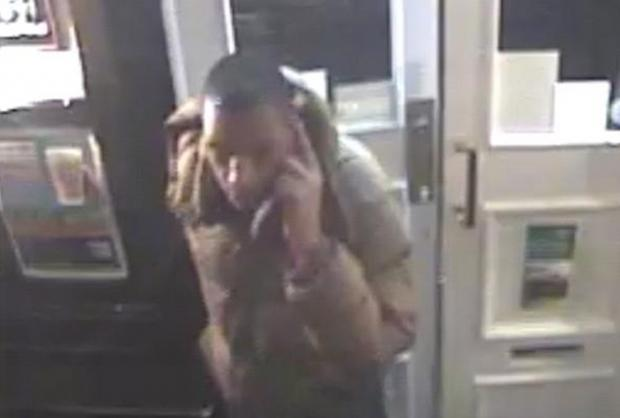 The man wanted in connection with the theft at the Rockstone pub in Southampton