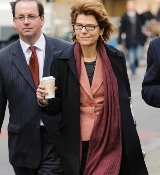 Vicky Pryce arrives in court