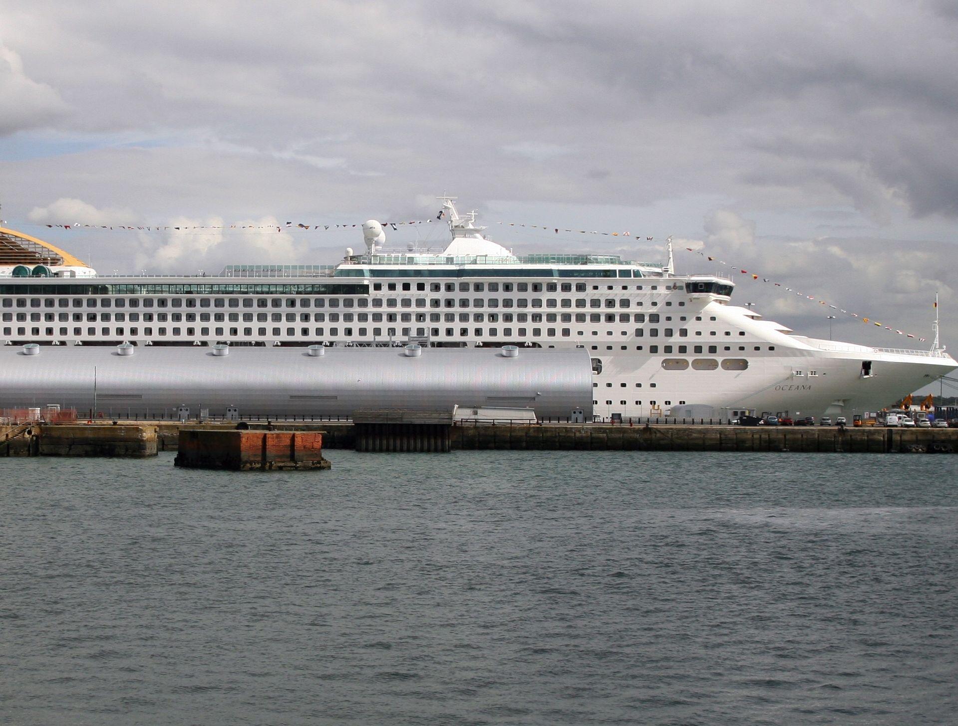 Oceana is one of the three cruise ship to undergo a revamp.
