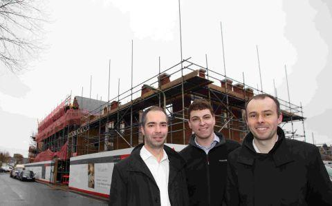 Jeremy Tyrrell, David Scott and Andrew Thompson of T2 Architects