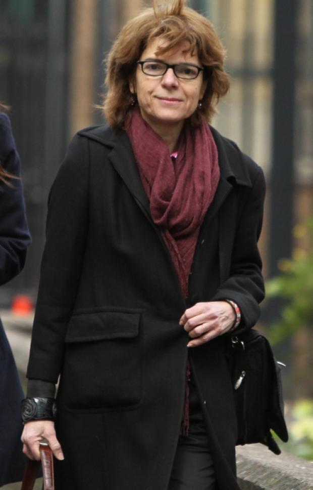 In the dock: Ex-wife of former MP continues to give evidence
