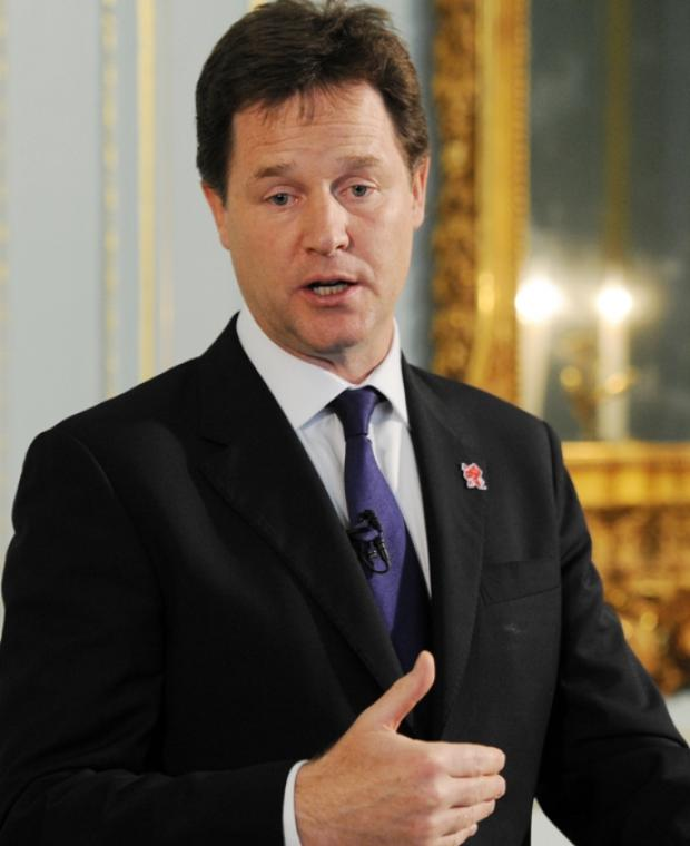Deputy Prime Minister Nick Clegg to start byelction race