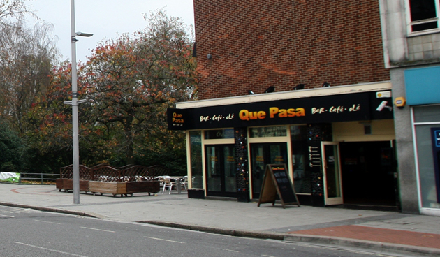 Que Pasa in Above Bar Street, Southampton