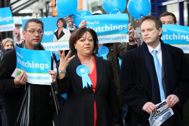 Tory candidate begins canvassing for votes in by-election