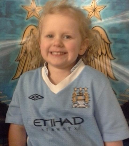 The little Manchester City fan whose life was save by Southampton doctors