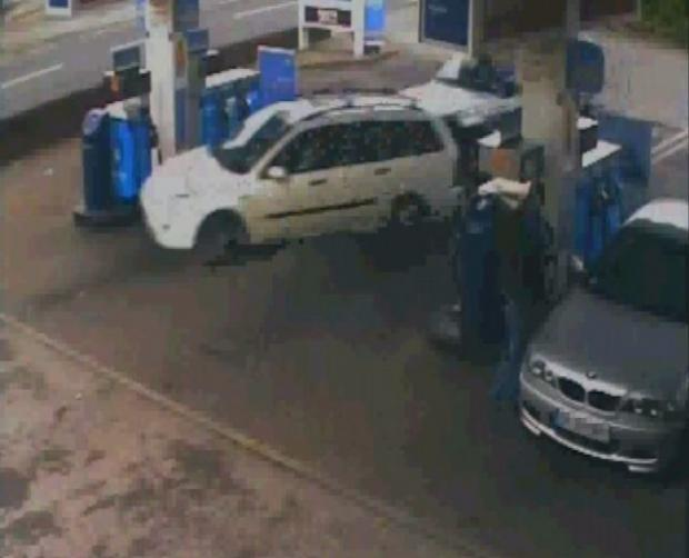 The incident at the Esso garage in Totton