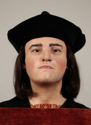 How Richard III may have looked based on the skull discovered beneath a Leicester car park
