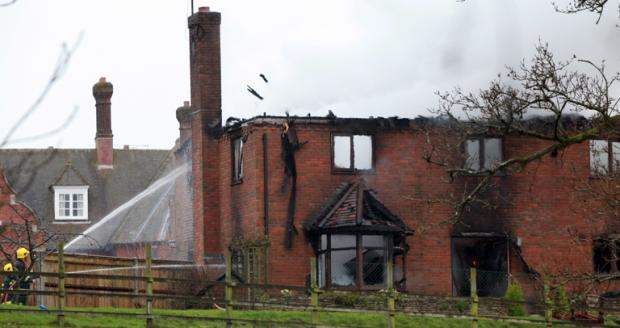 Police officers hailed heroes after saving OAP from blaze
