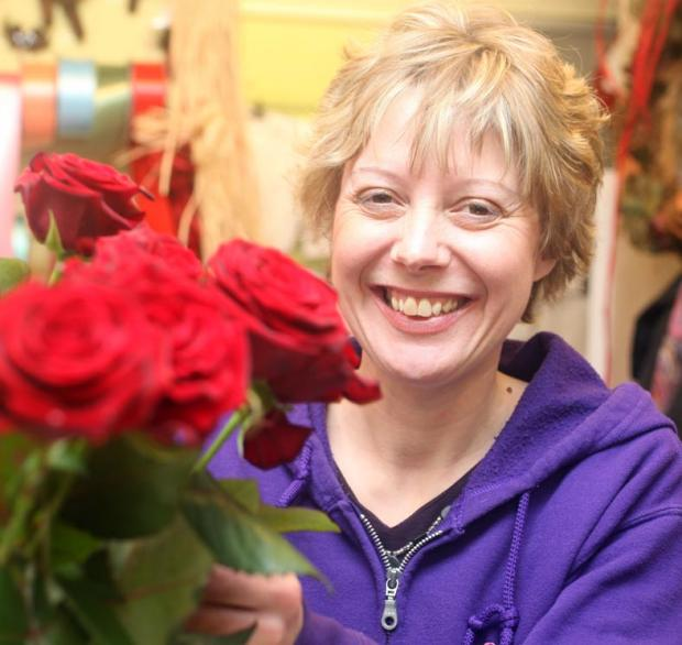 Dawn Sweetman, owner of Dawn's Flower Box