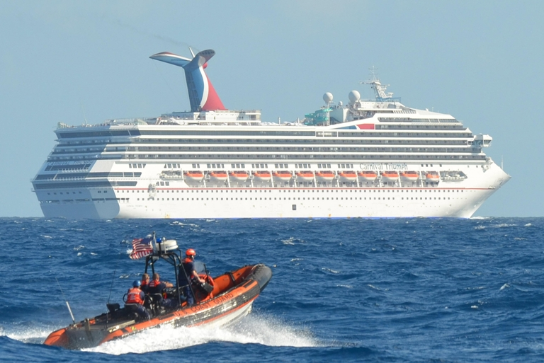 Stricken Carnival cruise ship limps back to port