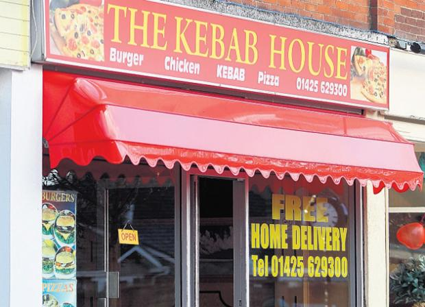 The Kebab House, Station Rd, New Milton, which took action to combat its rat problem shortly after inspectors visited.
