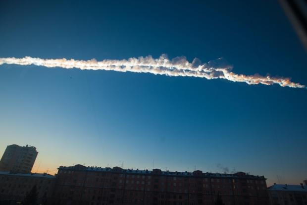 The meteor above Russia