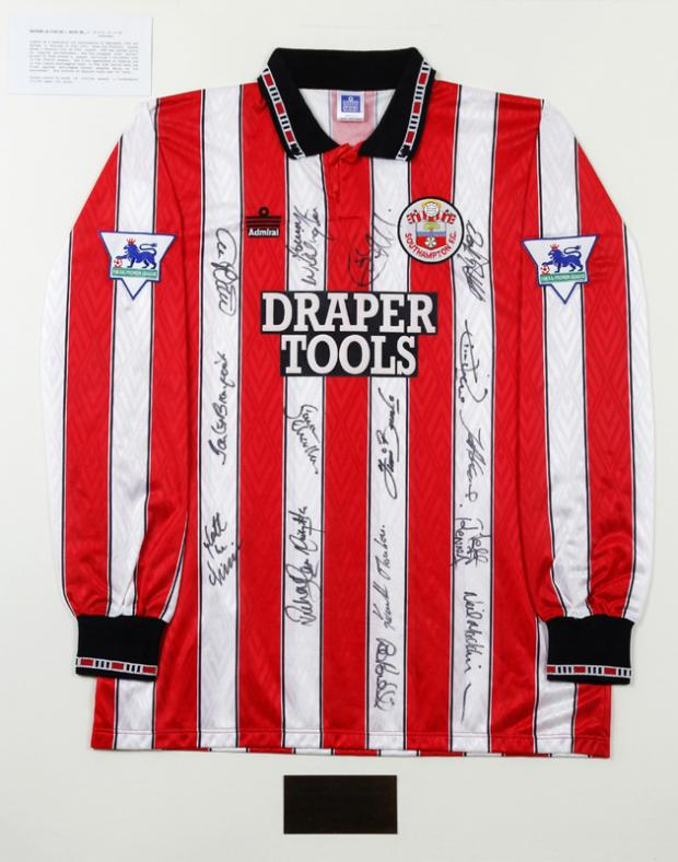 Rare Saints shirt for sale - at £15,000