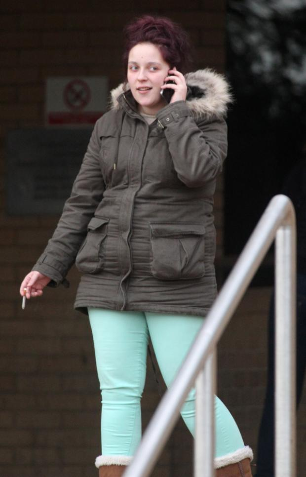 Sophie Hooper outside Southampton Crown Court