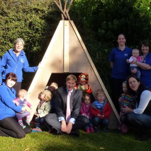 Yellow dot nursery has won a top award.