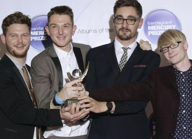 Alt-J with their Mercury Music Award