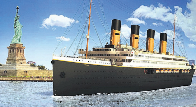 First images of the planned Titanic II revealed