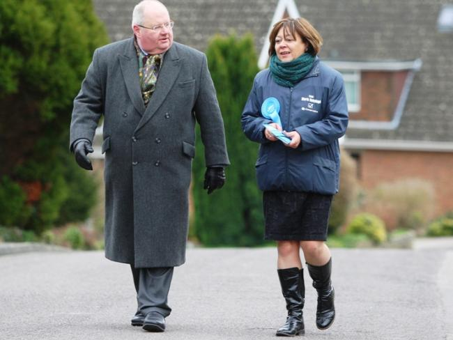 Eric Pickles joins Maria Hutchings
