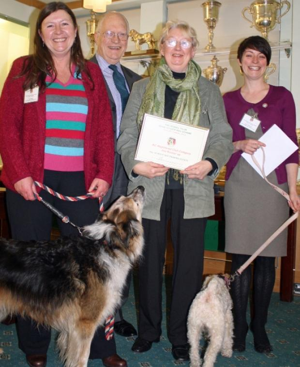 Dog training club runners up in Kennel Club awards