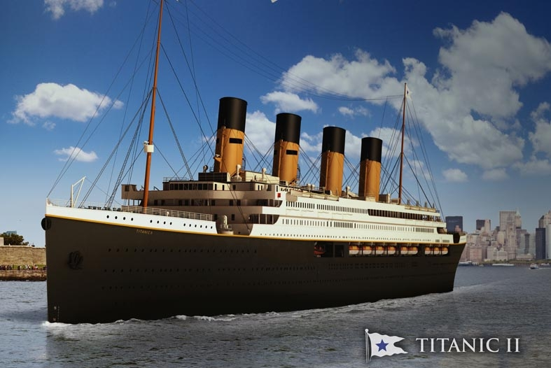 New Titanic II liner will be so successful a THIRD Titanic may be built says magnate