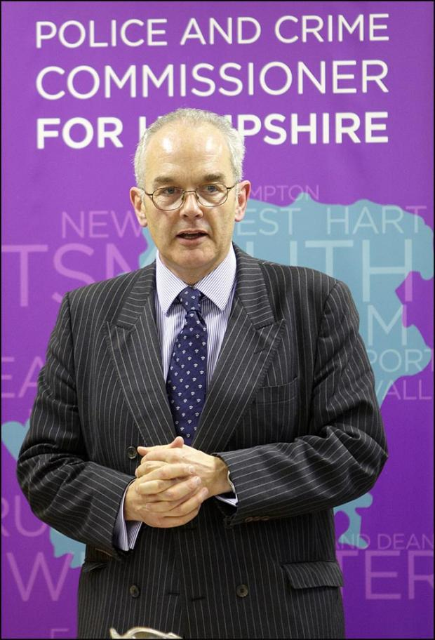 Police and crime commissioner Simon Hayes