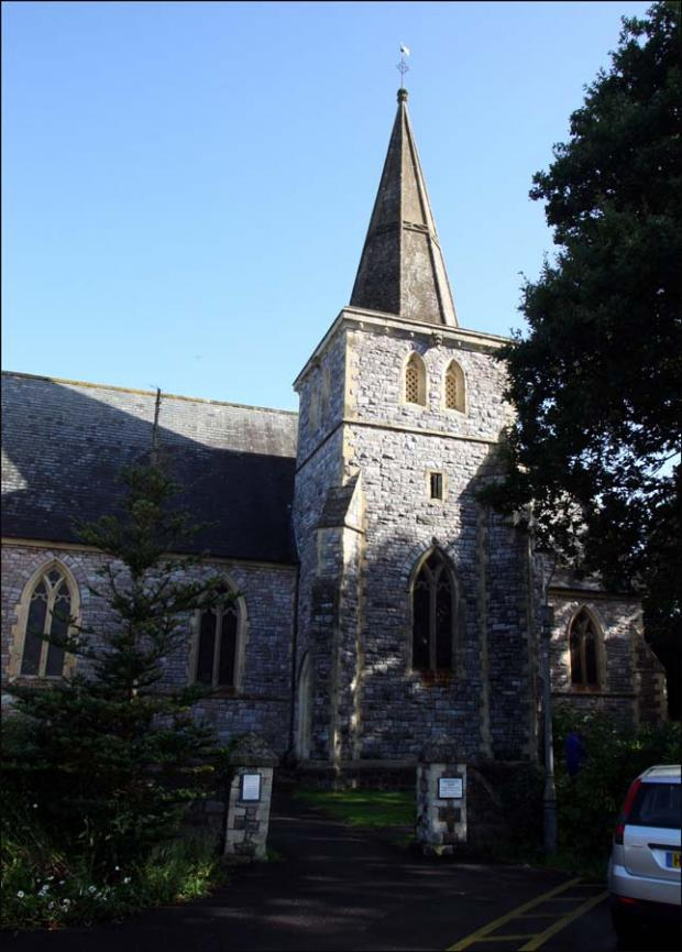 St John's church in Rownhams.